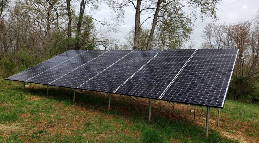 Follow the Solar Production at Cool Spring Preserve